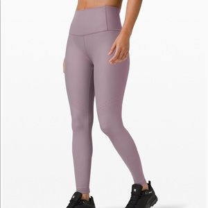 Brand new Lululemon Zoned In Tights in Lunar